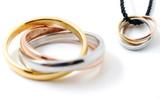 Tri-Mantras Ring