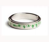 Green Tara Mantra Spinning Ring