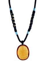 Citrine Yellow Zambala Pendant