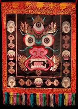 Mahakala Face Altar Front