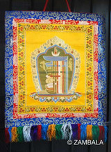 Kalachakra (The Tenfold Powerful One) Brocade 29""