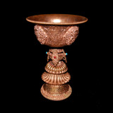 Master Crafted Extra Large Copper Butter Lamp