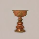 Copper Brass Butter Lamp