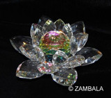 Crystal Lotus 6 Inches