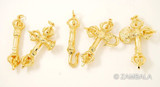 5 Gold Plated Ritual Weapon Set
