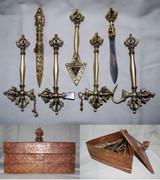 Copper Dalche with box
