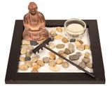 Zen Garden Buddha Square Base