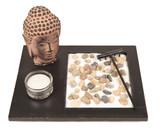 Zen Garden w/ Buddha Head