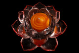 Lotus Votive Holder with Candle