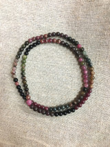 Tourmaline Crystal Mala - 6 mm