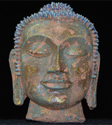 Buddha Head Wall Plaque