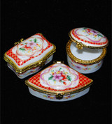 Limoges Style Boxes 3pc Set