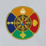 5-Buddha prayer wheel non-slip pad