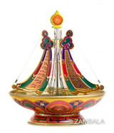 Enriching ( Five Zambala ) 24 Hr Mandala Incense Burner