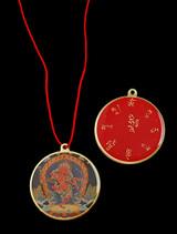 Kurukulle with Mantra Enamel Pendant