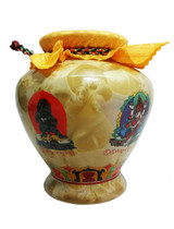 5 Zambala Blessed Treasure Vase (L)