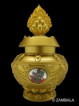 Green Tara Blessed Treasure Vase (L)