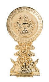 Cundi Mirror Gold Plated-2