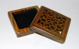 Green Sandalwood Square Burner with Magnet