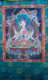 Namgyalma Silk Screen Thangka 3 ft