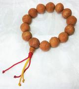 Natural Phoenix Eye Bodhi Seed Bracelet