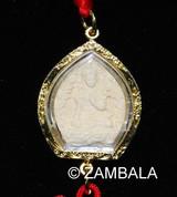 Deity Tsatsa Amulet Charm - Green Tara / KalaChakra