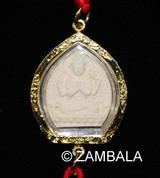 Deity Tsatsa Amulet Charm -  Chenrezig / KalaChakra