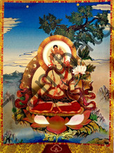 White Tara Card Gold