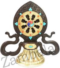 Dharma Wheel Copper & Brass