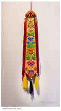 Damaru Chopen Embroidery Flower