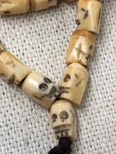 Bone Skull Mala 10mm