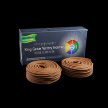 2 Hours Gesar Coil Incense - 24 Coils