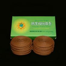 2 Hours Green Tara Coil Incense - 48 Coils