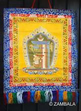 "Kalachakra (The Tenfold Powerful One) Brocade 29"""