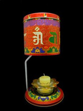 Om Mani Prayer Wheel