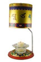 Manjushri Butter Lamp Prayer wheel