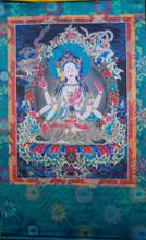 Namgyalma Silk Screen Thangka 3 ft