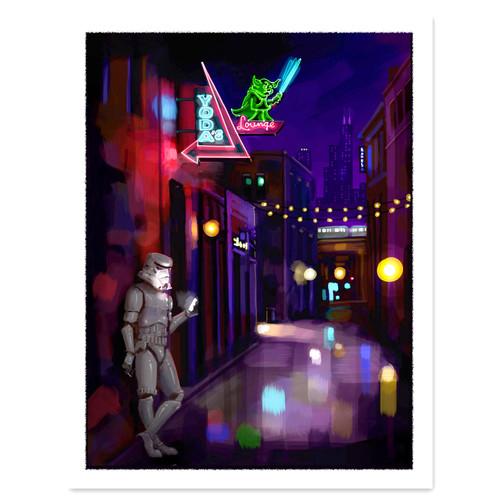 Yoda's Lounge Print