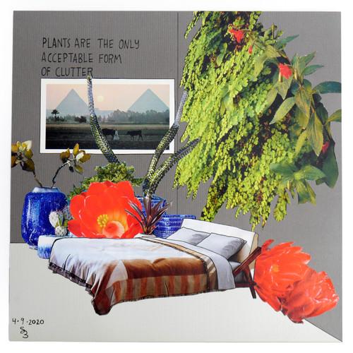 Plant Life Original Collage