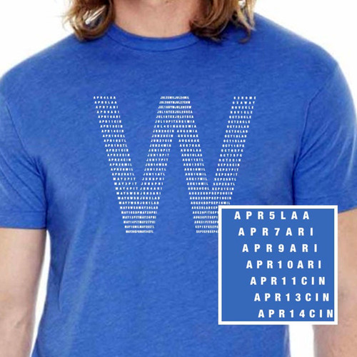 Fly The W Chicago Cubs Shirt