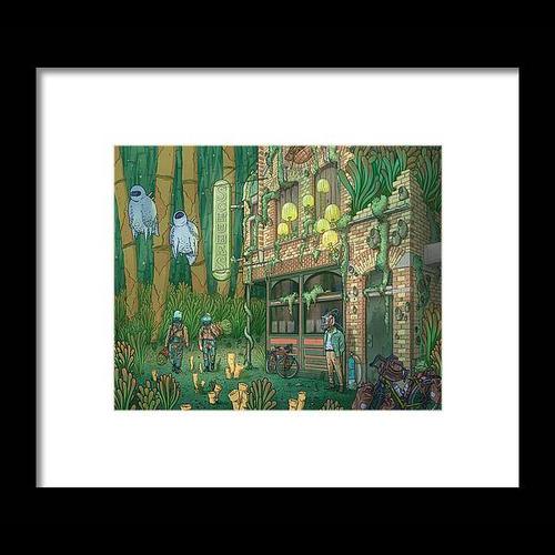 Schubas Tied House Framed Fine Art Print