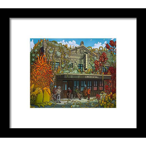 Lincoln Hall Framed Fine Art Print