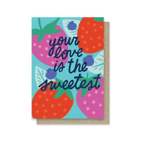 The Sweetest Mini Card