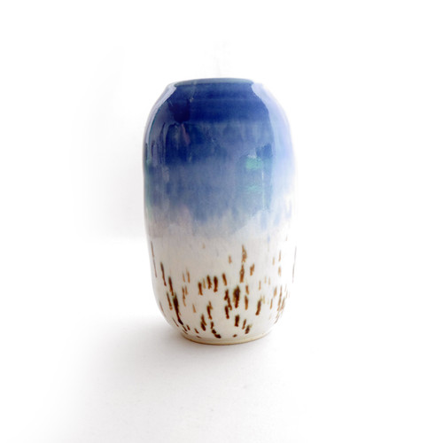 Blue Birch Vase