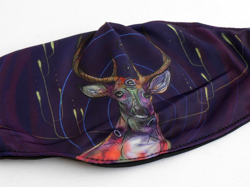 Stag Fabric Face Mask