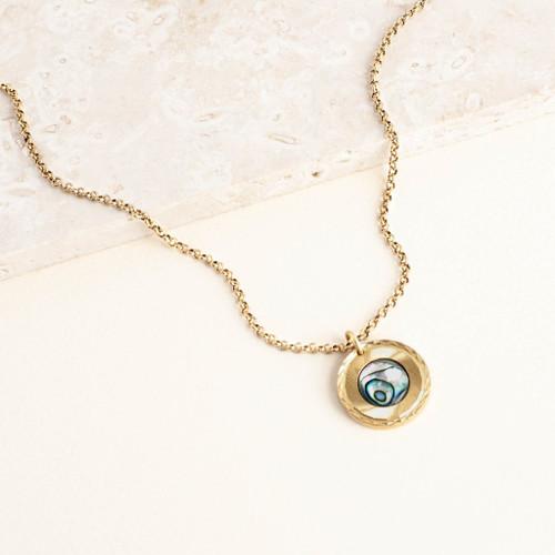 Abalone Portal Necklace