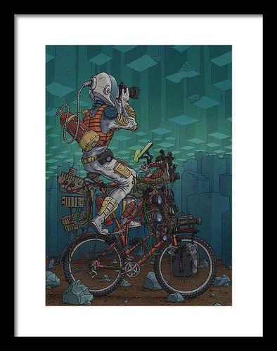 606 12x16 Framed Art Print