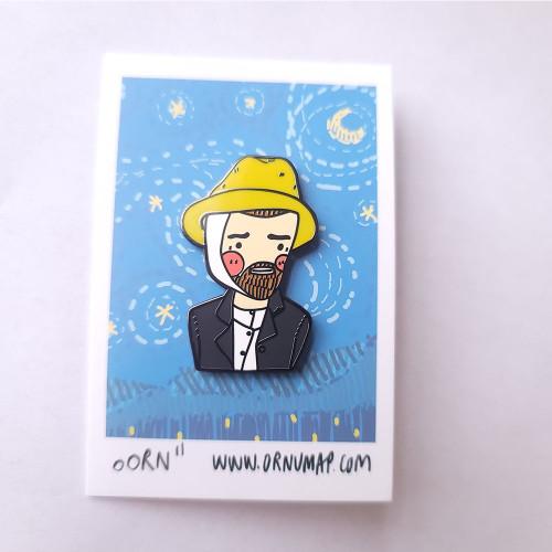 Van Gogh Enamel Pin