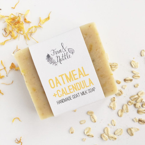 Oatmeal + Calendula Soap