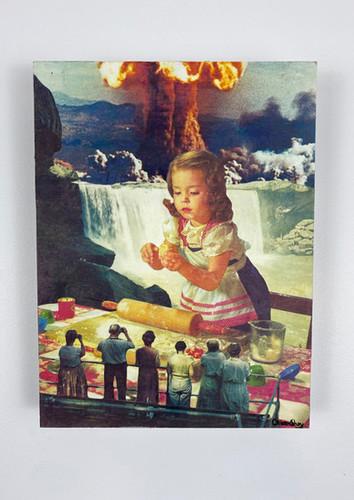 Little Martha Collage 12x16